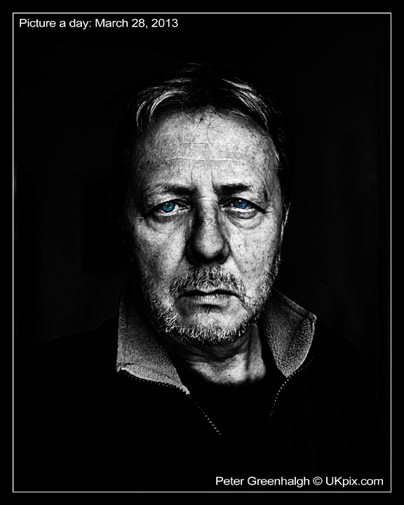 pic a day 2013 - 087 - Peter Greenhalgh - Black Mood